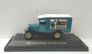 Olympic Games Model Van Los Angeles 1932