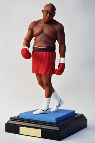 George Foreman Boxing Figurine