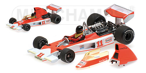 McLaren Ford M23 1976 South African GP James Hunt